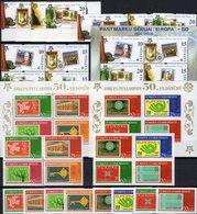 CEPT 2006 Türkiye 3491/8,2VB+sheets 58/9,Latvia 651/9,4-Block+Bl.21 ** 86€ Ss Blocs Topic Se-tenant 50 Years EUROPA - Latvia