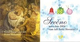 SLOVENIA, 2003, Booklet 22/23, Christmas / New Year - Slowenien