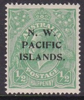 NWPI 1919 Wmk 11 Sc 39 Mint Hinged - Papúa Nueva Guinea