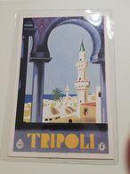 2498) Colonie Libia TRIPOLI Edizione ENIT Formato PICCOLO Non Viaggiata - Italia