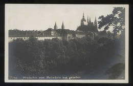 Praha. *Hradschim Vom Belvedere Aus Gesehen* Nueva. - República Checa