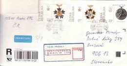 Czech Republic 28.10.2018, Occasional Briefmarken + Stempel, Reglement + Medal, Die Geburt Der Tschechoslowakei - Ganzsachen