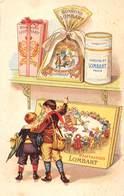 CHOCOLAT- LOMBART PARIS - Publicité