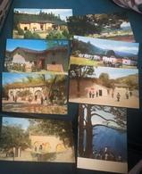 Mao China 8 Postcards Of Village Of Chairman Mao - Historische Figuren