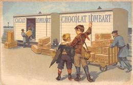 CHOCOLAT- LOMBART CACAO - Publicité