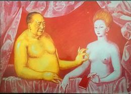 Artcard Of Chairman Mao - China