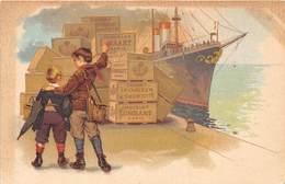 CHOCOLAT- LOMBART - Publicité