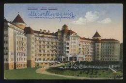 Karlsbad. *Hotel Imperial* Circulada 1921. - República Checa