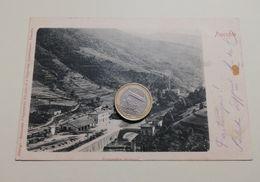 2527) Toscana PRACCHIA PISTOIA Stazione Ferroviaria VIAGGIATA 1903 - Italie