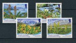 """Südgeorgien - Mi.Nr. 515 / 518 - """"Einheimische Flora"""" ** / MNH - Südgeorgien"""