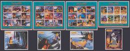 GUYANA 1995 - Disney Pocahontas - Mi CV=38 € - Indiani D'America