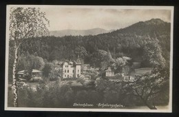 Steínschönau. *Erholungsheim* Foto *Joset Zummermann* Circulada 1930. - República Checa