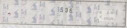 Paquet De 10 Bandes Transparentes Hawid Double Soudure Format 240 X 32  à  - 50% - Mounts