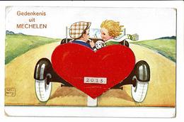 CPA - Carte Postale-BELGIQUE - Gedenkennis Uit Mechelen -S3079 - Mechelen
