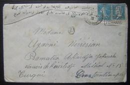 Clermont Ferrand 1926 Lettre Pour Constantinople (Turquie) Avec Daguin - Marcophilie (Lettres)