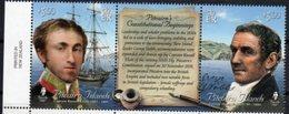 PITCAIRN ISLAND , 2018, MNH, PITCAIRN CONSTITUTION, SHIPS,  2v+TAB - History