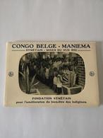 Mapje - Carnet 10 Cartes // Congo Belge // Maniema // Symetain - Mines Du Sud 1952 // Fondation Symetain 1 Carte Grande - Belgisch-Congo - Varia