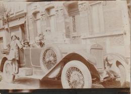 Photo 87 Mm X 63 Mm - Années 20 - Automobile Voiture - Scan R/V - Automobiles