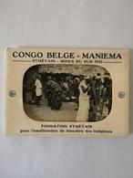 Mapje - Carnet 10 Grande Cartes // Congo Belge // Maniema // Symetain - Mines Du Sud 1952 // Fondation Symetain No 2 - Belgisch-Congo - Varia