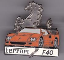 Pin's FERRARI F 40 EDITION LIMITEE N° 37 SUR 50 - Ferrari