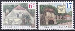 2004, Tschechische Republik, Ceska, 387/88, Technische Denkmäler: Hüttenwerke. MNH ** - Czech Republic
