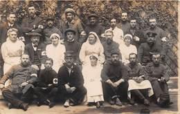 Militaria - Carte Photo à Identifier - Hôpital Militaire - Croix-Rouge - Guerre 1914-1918 - Guerre 1914-18