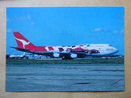 QANTAS  B 747 438  VH OJC - 1946-....: Ere Moderne