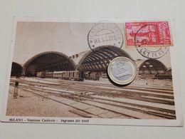 2565) Lombardia MILANO Stazione Ferroviaria 1932 Viaggiata - Milano (Milan)