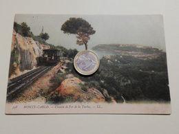 2566) MONTECARLO MONACO Ferroviaria 1901 VIAGGIATA CHEMIN DE FER - Monte-Carlo