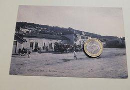 2567) ALGERIA COSTANTINE Stazione Gare Ferroviaria 1906 VIAGGIATA - Algeria