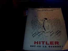 Revue Le Crapouillot No.special Juillet  1933 Hitler Est Ce La Guerre? 78  Pages - Otros