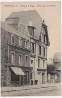 Saint-Malo. Hôtel De La Digue. Entrée Avenue Du Sillon - Saint Malo