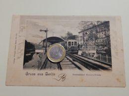 2571) Germania BERLINO Stazione Ferroviaria Non VIAGGIATA TRENO Gruss - Altri