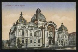 Bucaresti. *Casa De Depuneri* Nueva. - Rumania