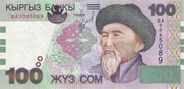 KYRGYZSTAN P.21 100 Som 2002 Unc - Kirghizistan