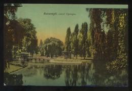 Bucaresti. *Lacul Cismigiu* Nueva. - Rumania