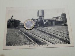 2575) Africa Djibouti Gare Stazione Ferroviaria NON VIAGGIATA TRENO Gruss - Cartoline