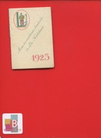 VERSAILLES LA KABILINE Legris Carnet Calendrier Petit Format 1925 - Calendari