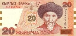 KYRGYZSTAN P.19  20 Som 2002 Unc - Kirghizistan