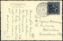 ÖSTERREICH 1936 (Aug.) SSt: WIEN/28. ESPERANTO-WELTKONGRESS/28-a UNIV.KONGRESO De ESPERANTO (Stern) Klar Gest. Esperanto - Esperanto