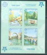 BHRS 2005-339-42B 50 YEARS CEPT, BOSNA AND HERZEGOVINA-R.SRPSKA, S/S, MNH - Bosnien-Herzegowina