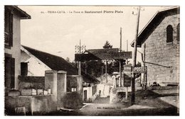 CPA Lucéram Peira Cava Alpes Maritimes 06 La Poste Restaurant Pierre Plate éditeur Braeckmans à Nice N°11 - Lucéram
