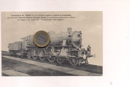 2582) Treno Train Ferrovia BREDA MILANO LOCOMOTIVA 69001 NON Viaggiata - Trenes
