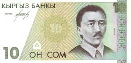 KYRGYZSTAN P.9  10 Som 1994 Unc - Kirghizistan