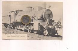 2587) Treno Train Ferrovia BREDA MILANO LOCOMOTIVA BRINDISI NON Viaggiata - Trenes