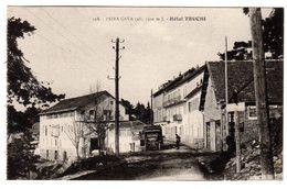 CPA Lucéram Peira Cava Alpes Maritimes 06 Hôtel Truchi Vieux Camion éditeur Braeckmans à Nice N°108 - Lucéram