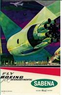 SABENA - Bagage Etiketten: Fly Boeing - Étiquettes à Bagages