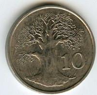 Zimbabwe 10 Cents 1994 KM 3 - Zimbabwe