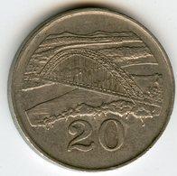 Zimbabwe 20 Cents 1991 KM 4 - Zimbabwe