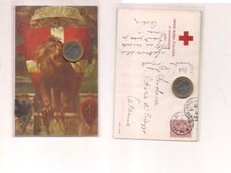 2611) Militari CROCE ROSSA ITALIANA ROMA 1915 Viaggiata - Croce Rossa